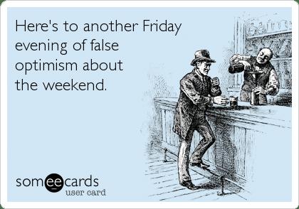 Friday Optimism