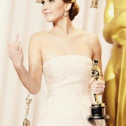 Jennifer Lawrence… WINNING!