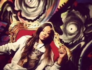 Rihanna Up in Smoke