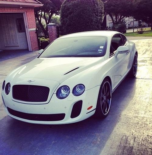 Nice White Car