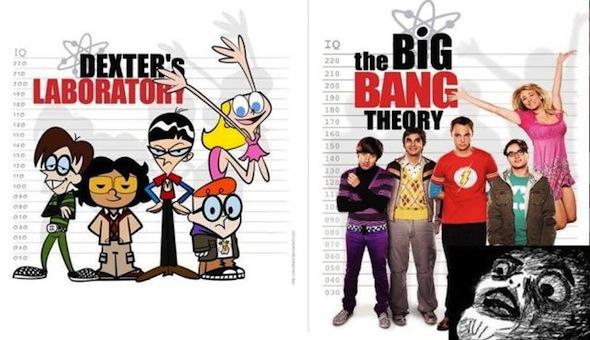 Dexters Lab and Big Bang Theory