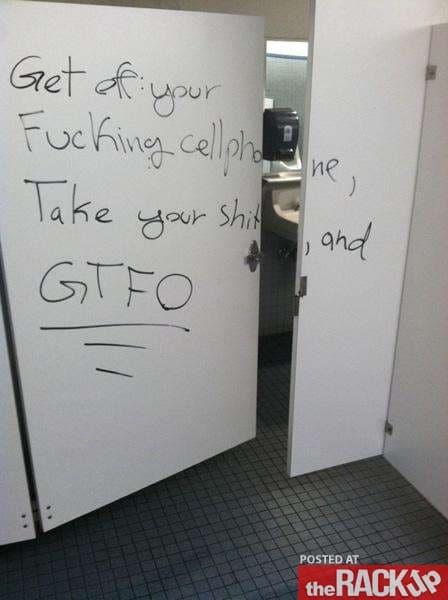 10 Pretty Damn Funny Bathroom Graffiti