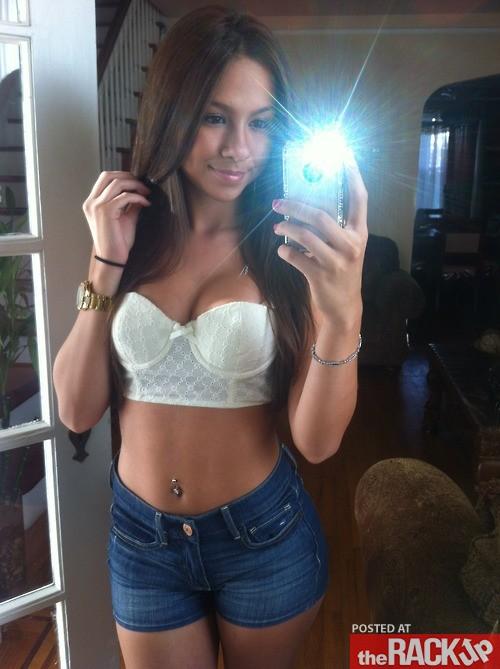 Pretty Brunette Selfshot