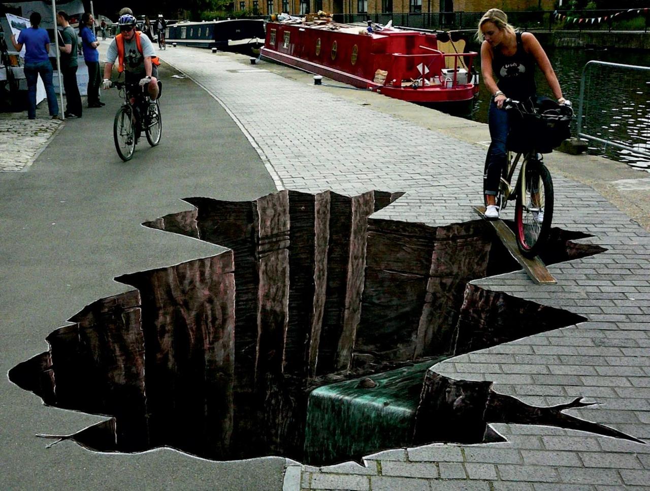 8 Amazing 3D Street Art Pictures