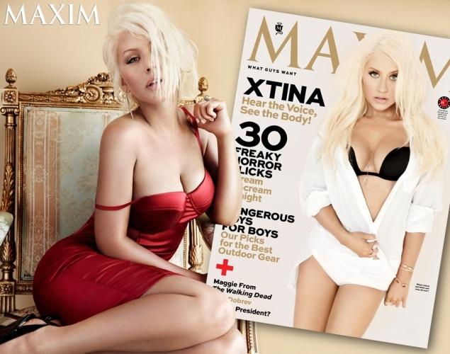Christina Aguilera Maxim Pictures 3