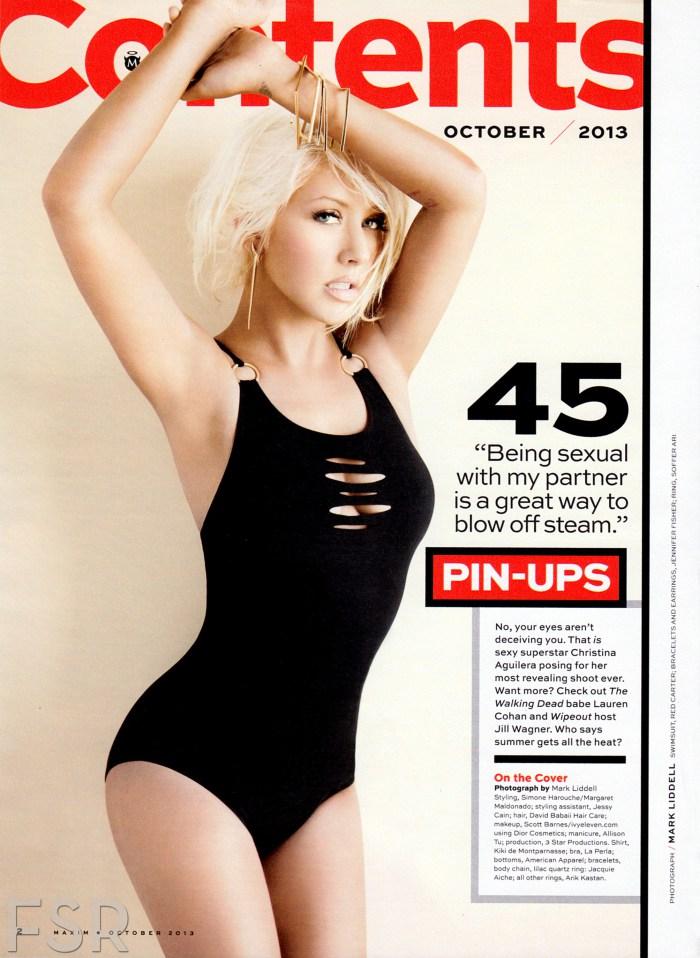 Christina Aguilera Maxim Pictures 4