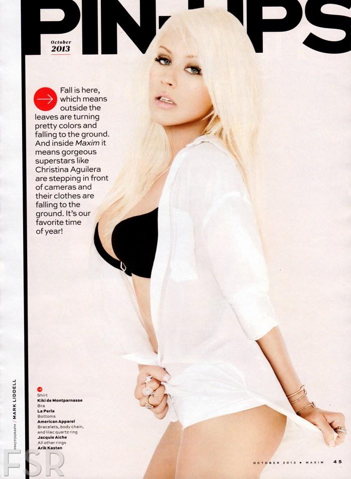 Christina Aguilera Maxim Pictures 5
