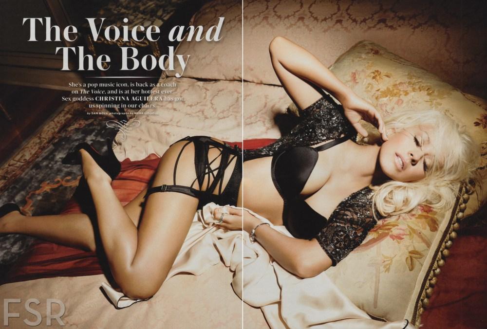 Christina Aguilera Maxim Pictures 6