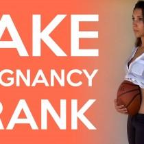 LOL: Fake Pregnancy Prank! (Watch)