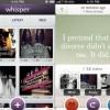 iPhone App of the Week: Whisper