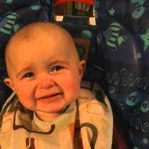 Too Cute! Baby Gets Emotional When Mom Sings (Watch)