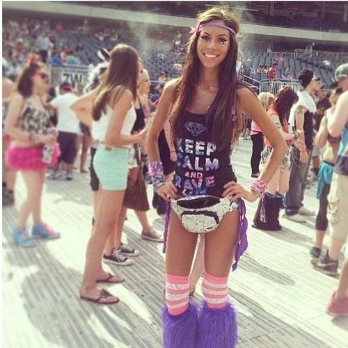 Tan EDM Girl