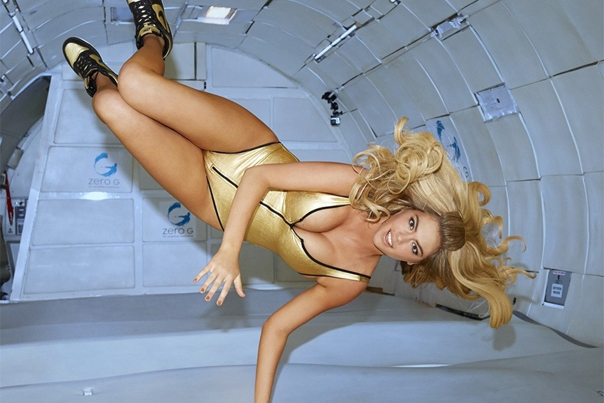 Kate Upton Up in Space and Sexier than Ever!