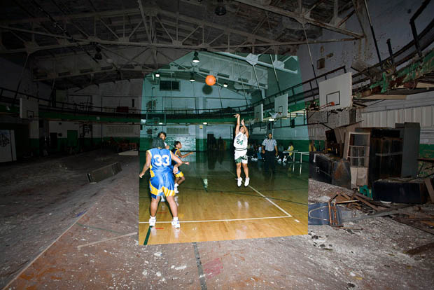 AMAZING! Old Pictures Give Life to Abandoned School
