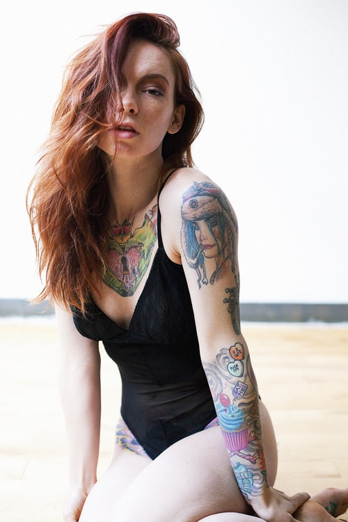 Tatted Ginger