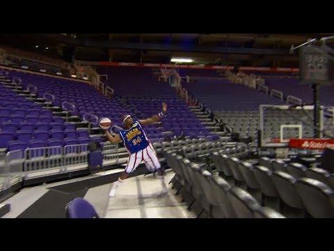 Worlds Longest Basketball Shot Ever 2013 (Watch)