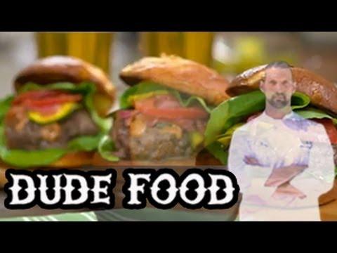 Secret Ingredient Burger Recipe from Dude Food (Watch)