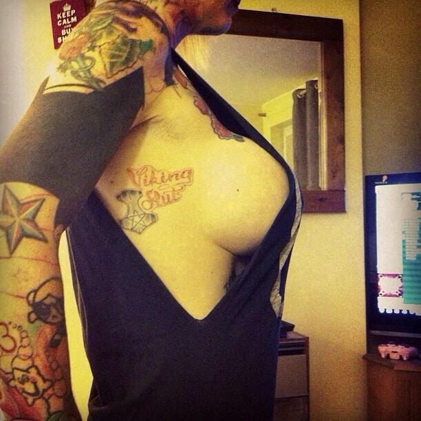 Sexy Sideboob Tattoos
