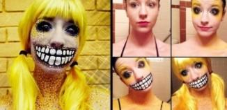 10 Crazy Cool Makeup Transformations