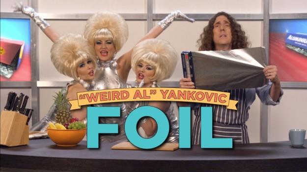 "LOL: Weird Al's Parody of Lorde's Royals… ""Foil"" (Watch)"
