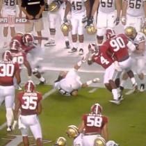 NCAA Football Hard Knocks! (Watch)