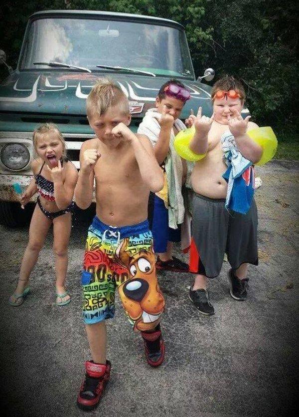 32 Photos That Show Kids Are Just Plain Weird