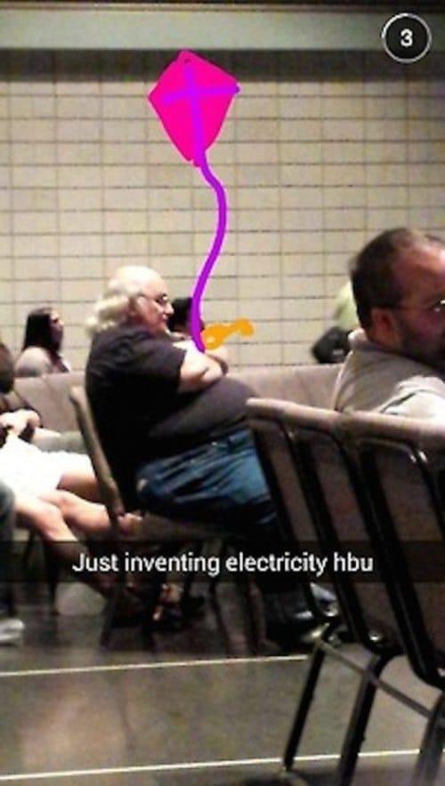 We Found Some Creative Yet Strange Snapchatters (27 Pics)