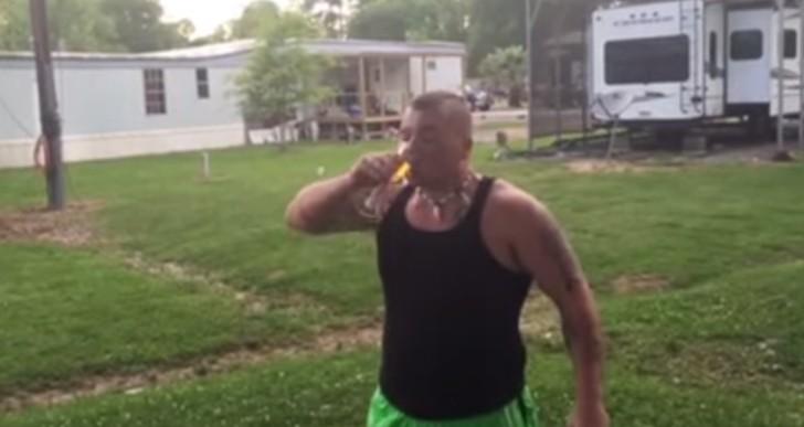 Whiskey Wednesday Back Flip Baby Time! (Video)