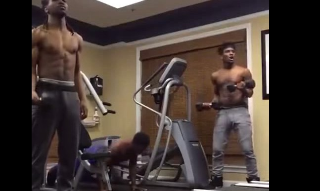 When Your Jam Comes on in the Gym… (Video)
