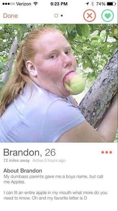 Funny Tinder Profiles 14