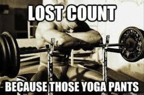 Funny Yoga Pants Meme