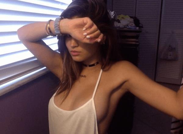 Sexiest Sideboob Selfie