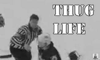 No Fighting, Nope Not With This THUG LIFE Referee (Video)