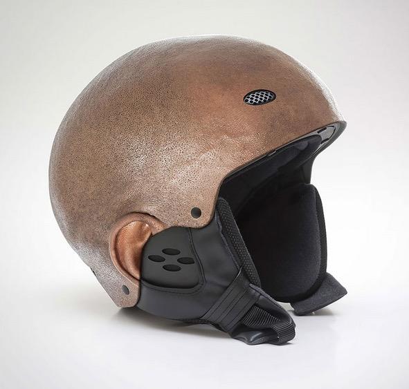 Human Head Helmet 2
