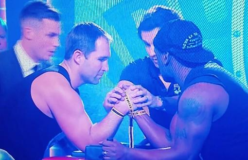 Televised Arm Wrestling Match Ended Horribly Wrong (Video)