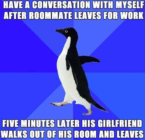 Socially Awkward Penguin 7