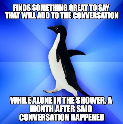 Socially Awkward Penguin 8