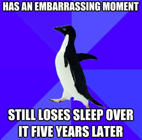Socially Awkward Penguin 9