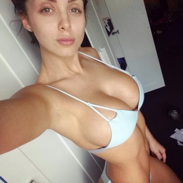Naked women shower in public