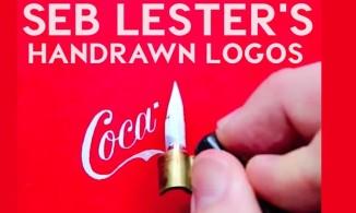 Artist Draws Famous Logos By Hand (Seb Lester)