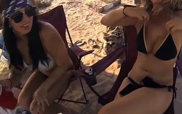 Bilzerian's Bouncy Beach Buddies
