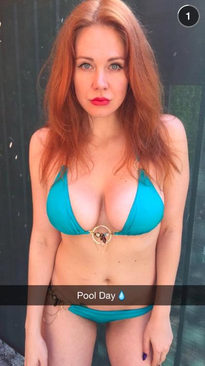 Sexy Snapchat Ginger