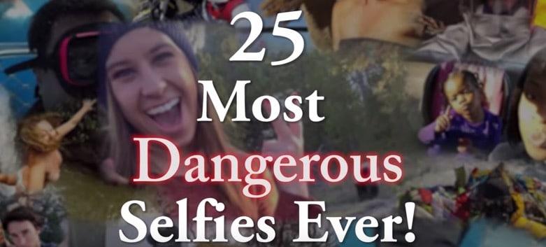 25 of the Most Dangerous Selfies Taken
