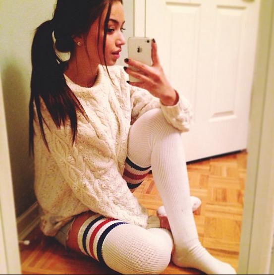 Girls in Thigh High Socks 18