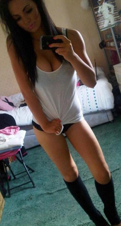 Girls in Thigh High Socks 19