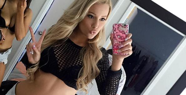 Australian Hottie Aleisha Hudson on Instagram