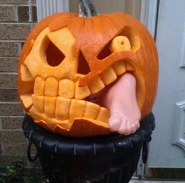 Creative Pumpkin Carvings 3 Therackup
