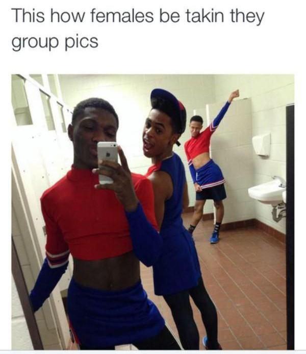 Girls Taking Selfies Reality