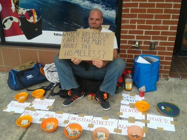 Funny Homeless Guy