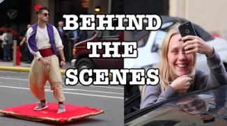 Behind the Scenes: Magic Carpet Ride Prank